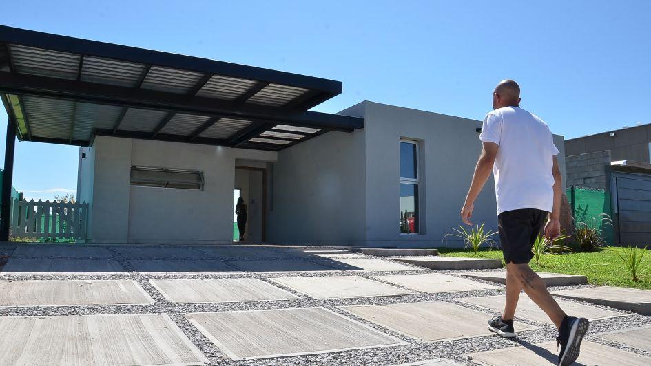 Construyeron la primera casa autosustentable de San Rafael