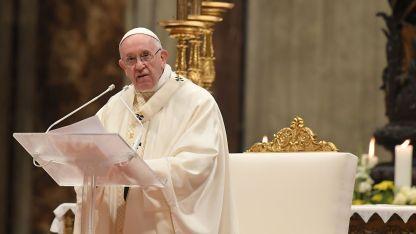 """""""Donde hay vida, hay esperanza"""", sostuvo el Papa."""