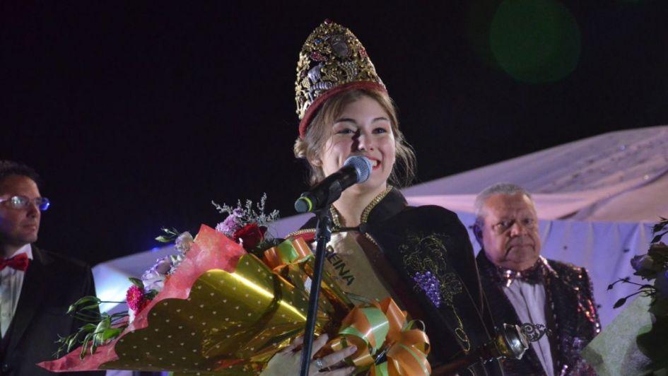 General Alvear tiene nueva reina de la Vendimia, Romina Denis Fernández fue la elegida
