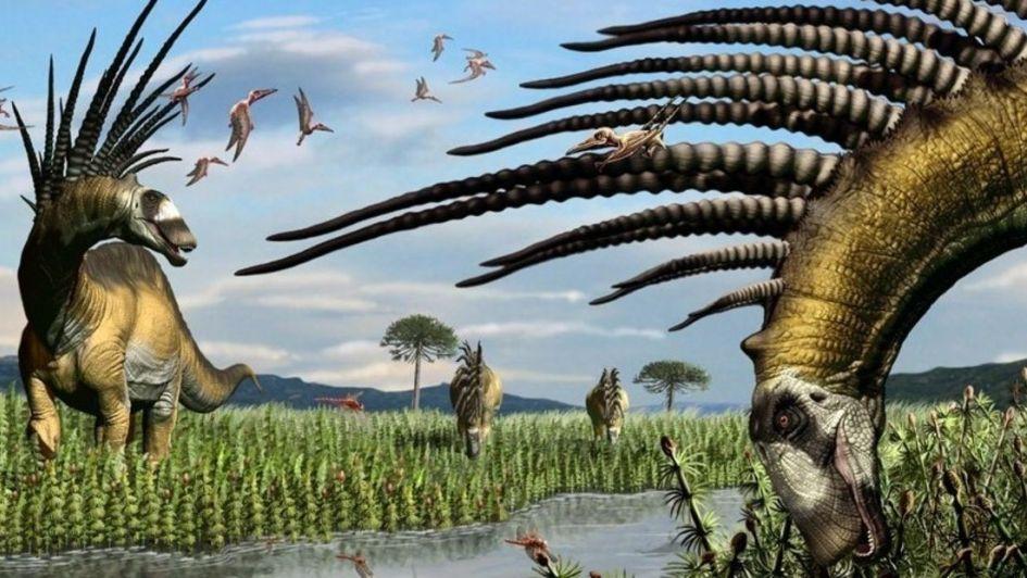 Encuentran un dinosaurio saurópodo en la Patagonia