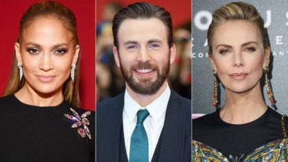 Chris Evans, Jennifer Lopez y Charlie Theron, entre los 13 presentadores de los Oscar