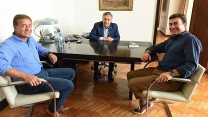 ¿Sucesores? Cornejo junto a Rodolfo Suárez y Omar De Marchi