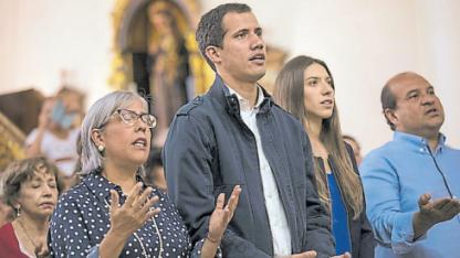 Guaidó se autoproclamó Presidente interino el 23 de enero.