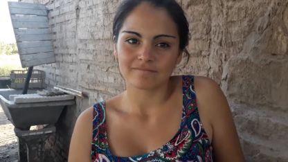 Sonia Reyes, la virreina de General Alvear en su humilde casa