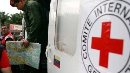 La Cruz Roja en Venezuela.