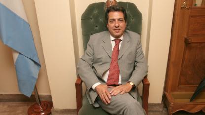 Cornejo ya le aceptó la renuncia a Farruggia.