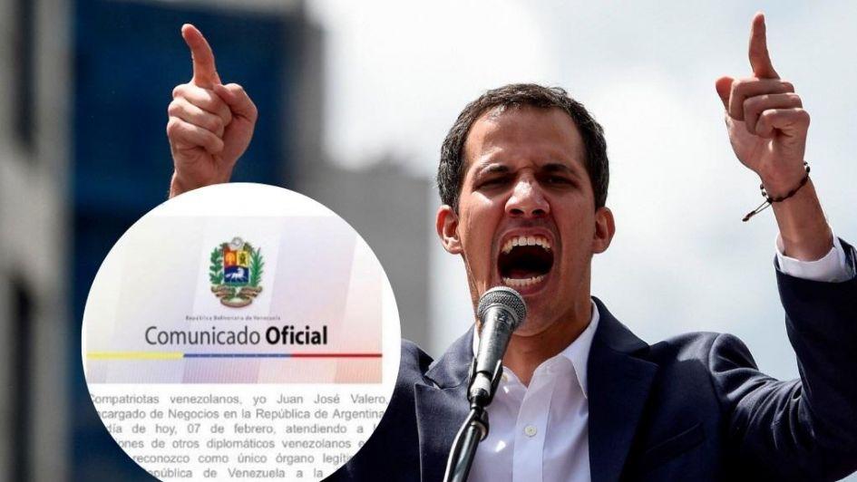 Hackearon la web de la embajada de Venezuela en Argentina