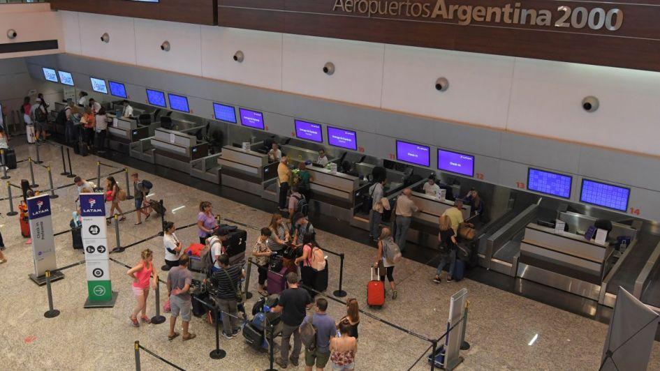 El aeropuerto de Mendoza fue el segundo con mayor cantidad de pasajeros durante enero