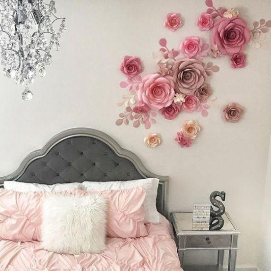 La alegría de las flores llegó a tus paredes