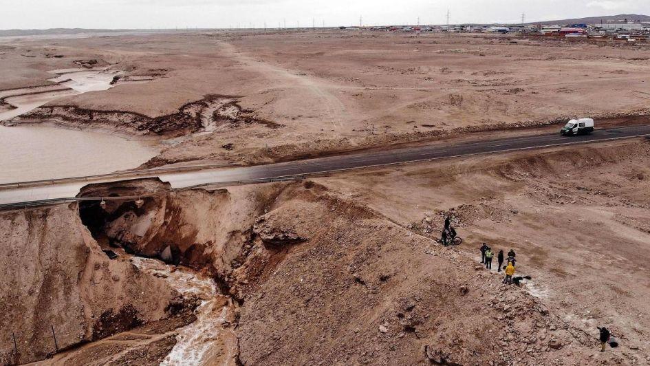 Zona de catástrofe: temporal en Chile dejó 6 muertos, casas destruidas y minas paralizadas