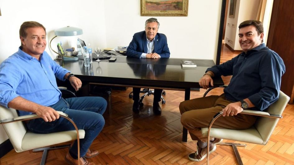 Interna oficialista: Suárez y De Marchi empiezan a distanciarse
