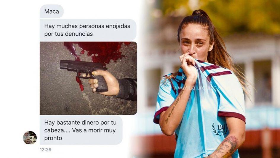 Amenazaron de muerte a la jugadora que pide por el profesionalismo en el fútbol femenino