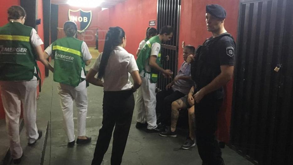 Rosario Central denunció que había sustancias tóxicas en su vestuario