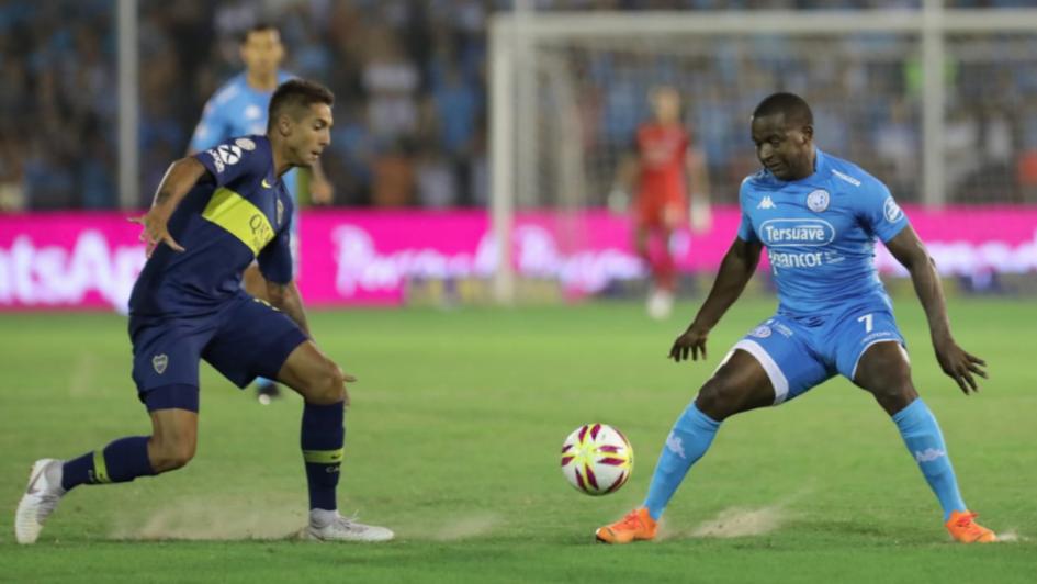 Boca ganaba, pero Belgrano sacó fuerza y se lo empató con polémica incluida