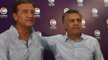 Cornejo y Suárez en la gira por EEUU