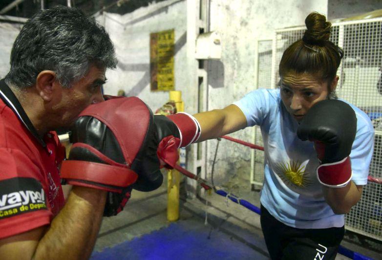Boxeo: doble fondo en el Club Social Las Heras