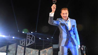 Alejandro Grigor en la fiesta de Lavalle 2019.