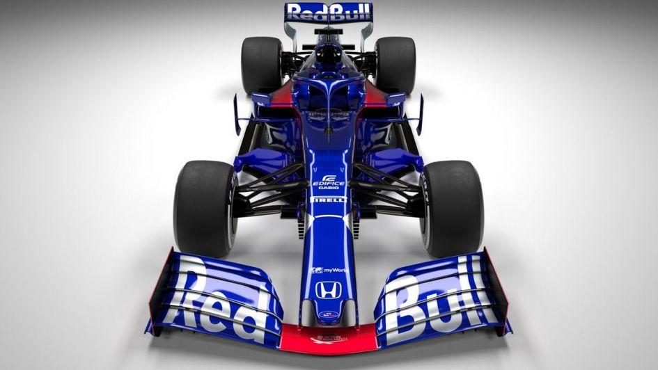Fórmula 1: Toro Rosso presentó su auto para 2019