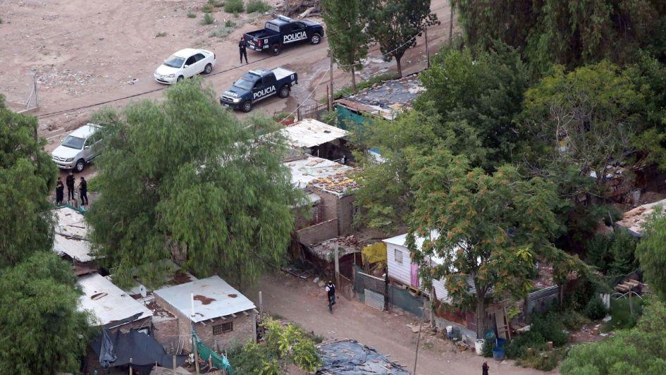 Fuerte operativo de seguridad en Godoy Cruz: cinco detenidos