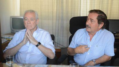 Balter fue presidente del PD, Niven lo es. Ambos rezongaron por el trato de Cornejo.