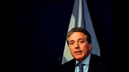 El ministro de Economía, Nicolás Dujovne.