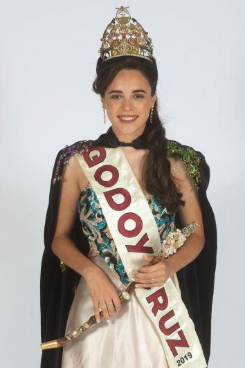 Regina, reina de Godoy Cruz, protagonista de un video imperdible