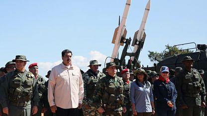 Nicolás Maduro junto al Ejército de Venezuela.
