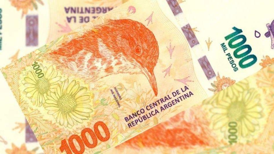 Alertan por la circulación de billetes falsos de $1.000