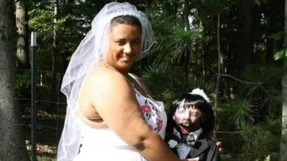 El momento del casamiento.