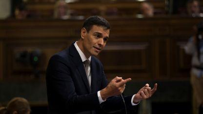 Elecciones. Según se informó, Sánchez baraja el 14 o el 28 de abril como fechas tentativas.