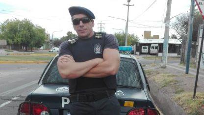 Daniel Morales, el policía que rescató a la nena de 2 años