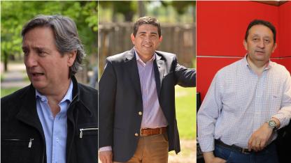 Emir Félix, Walther Marcolini y Celso Jaque. Protagonistas de la política sureña.