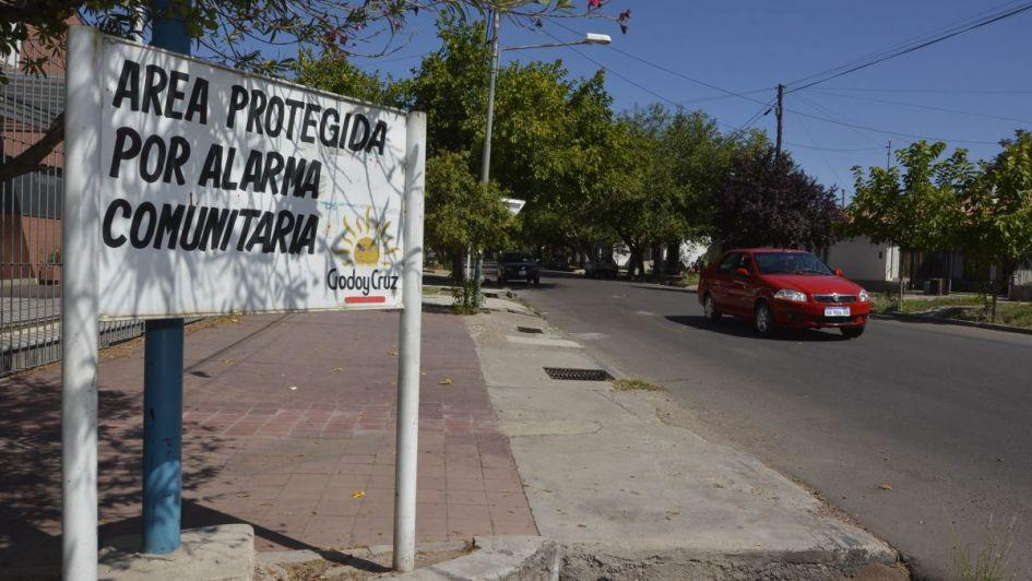 Solidaridad convertida en seguridad en Godoy Cruz