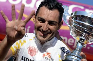 Juan Pablo Dotti regresa a nuestro giro para lograr su cuarta corona.