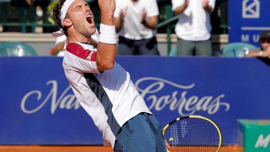 Pella salvó cuatro match points y llegó a semis del Argentina Open