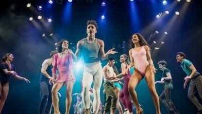 """Melenik Cambiaso. Es parte del elenco de la exitosa """"A chorus line""""."""