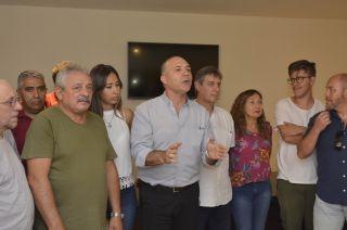 """Cúpula. Carmona, Omar Félix y Fadel, los """"orgánicos"""" del PJ."""