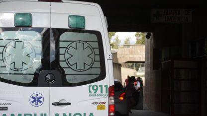El motociclista fue derivado al hospital Central