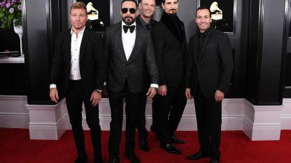 La banda exitosa durante su presencia en los Grammy.