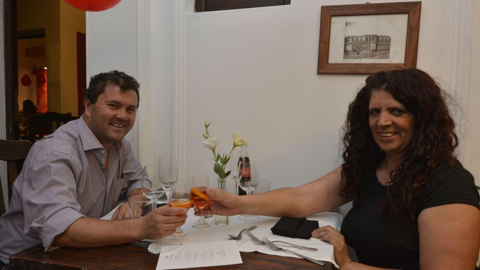 Los socios de Los Andes Pass celebraron el Día de los Enamorados