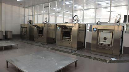 Iinfraestructura. Parte del equipo de lavado automático industrial que posee el centro asistencial