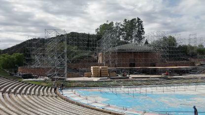 El teatro griego Frank Romero Day