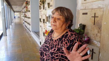 Nancy Díaz dijo que charlaba seguidamente a Pereg y que lo conocía bastante.