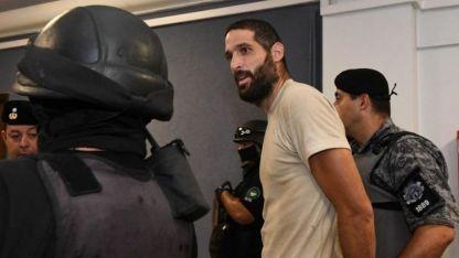 Pereg maulló en su última visita a Tribunales.