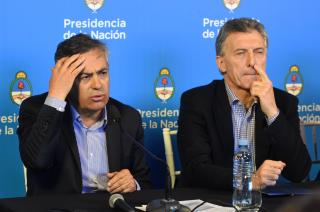 Cornejo, como el resto de los gobernadores, recibió menos fondos de Macri producto del ajuste fiscal acordado con el FMI.