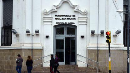 El edificio de la Municipalidad de San Martín