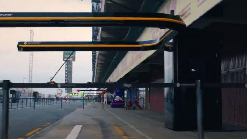 Anuncio del estreno del documental de la Formula 1