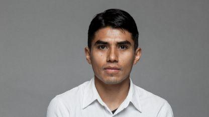 El actor Jorge Antonio Guerrero.