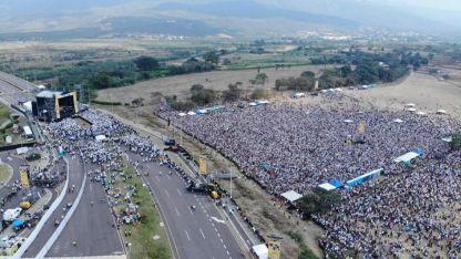 Unas 300.000 personas presenciaron el histórico show.