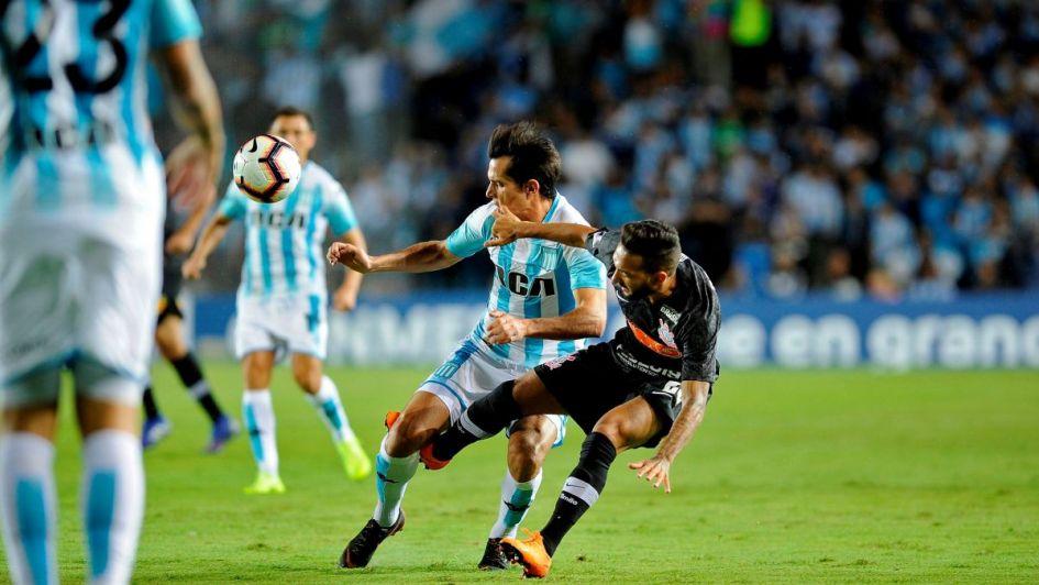 Racing empata con Corinthians en el partido revancha de la Copa Sudamericana